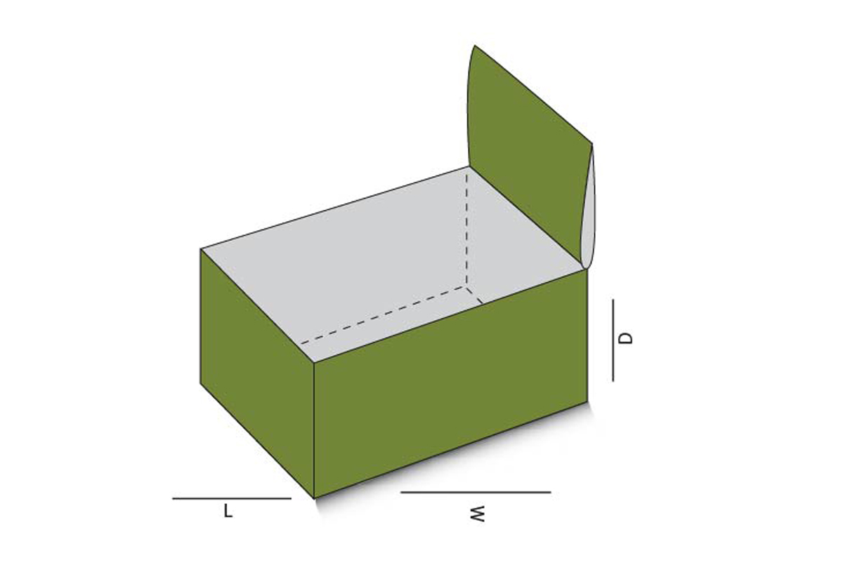 Side Lock Top D Box