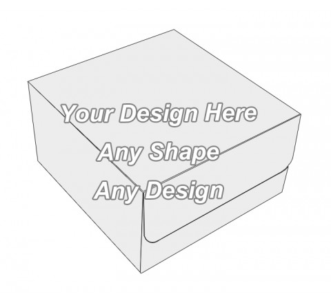 Custom - Tuck End Auto Bottom Cupcake Box