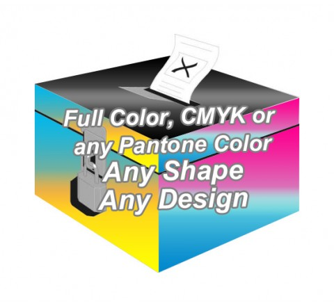 Full Color - Ballot Boxes