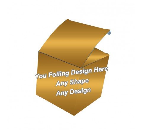 Golden Foiling - Belt Packaging Boxes