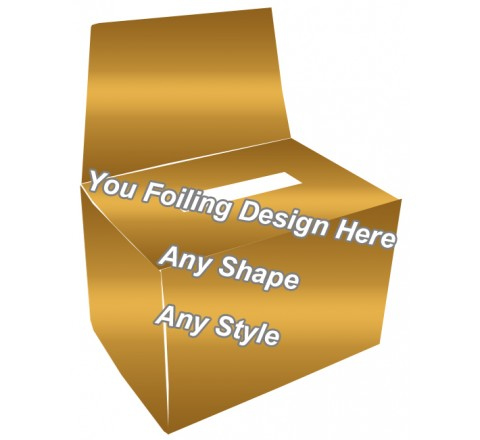 Golden Foiling - Bandage Packaging