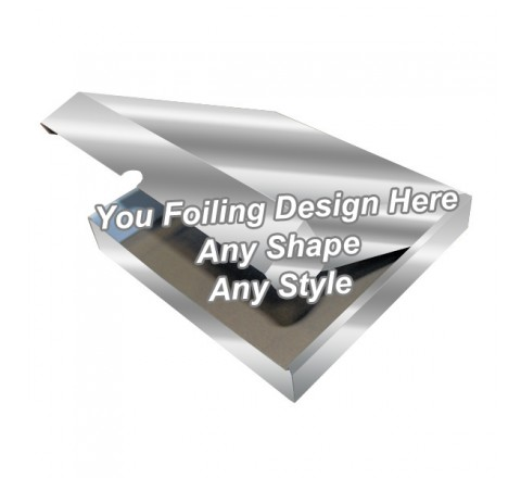 Silver Foiling - Tamp On Packaging